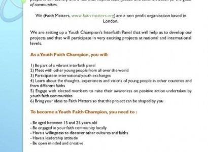 Youth Faith Champions