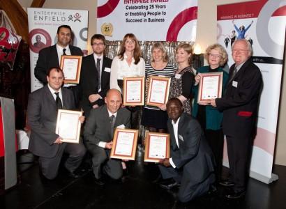 Enterprise Enfield Awards Business Winners!