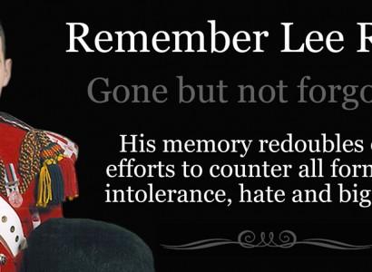 Remembering Lee Rigby