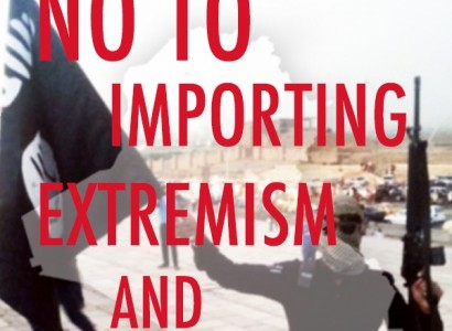 No to Importing Extremism and Sectarianism into the UK