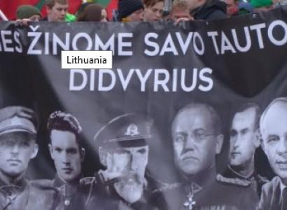 Lithuanian neo-Nazi march celebrates Nazi collaborators