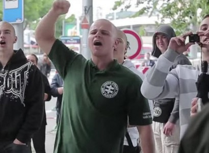 Slovak Neo-Nazi MP, Milan Mazurek, Caught on Camera Attacking Muslims in Slovakia