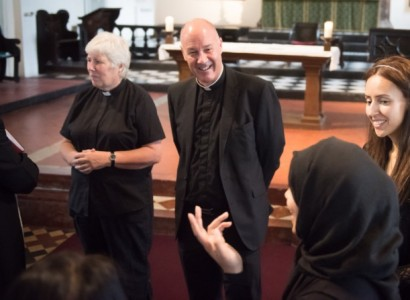 Muslims join today's Eucharist at Bethnal Green to mark French priest's murder by Islamists