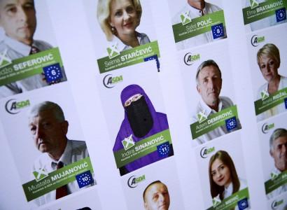 Bosnian Muslim politician wages veiled fight against prejudice