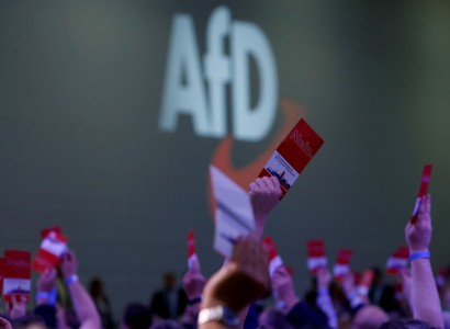 German far-right party draws backing from small group of Jews