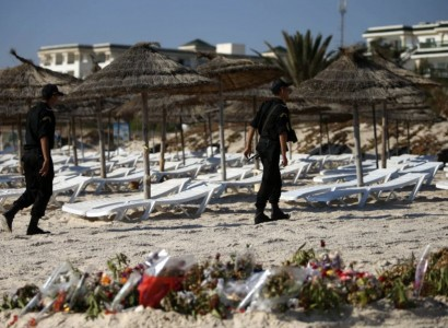 Officer and three assailants killed in Tunisia resort attack