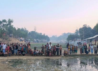 1,800 Rohingya relocated to isolated island