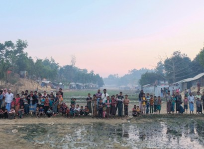 First Rohingya refugees arrive at isolated Bangladesh island