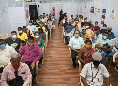 India's crematoria overwhelmed as virus 'swallows people like a monster'