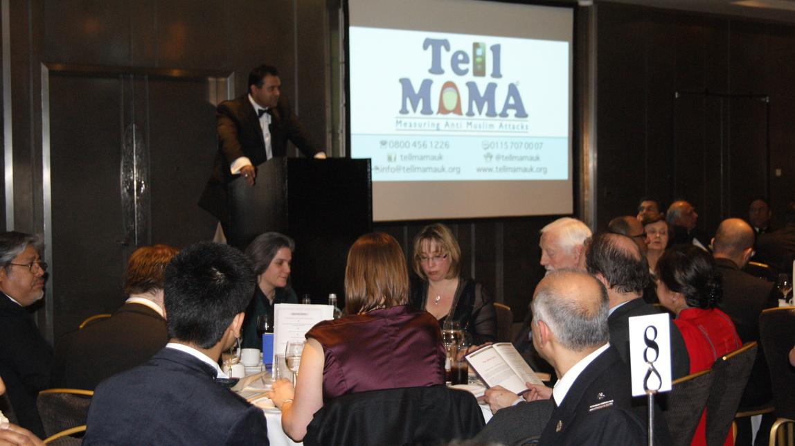 TELL MAMA Fundraising dinner - Faith Matters