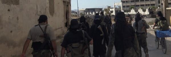IS in Qadam - South Damascus