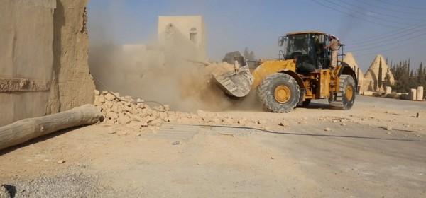 ISIS bulldozers