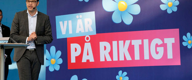 How the far-right are trying to deter refugees from entering Sweden