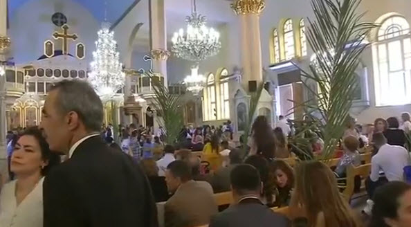 Damascus celebrates Palm Sunday for 1st time in 5 years
