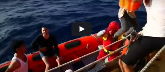 Migrants rescued off Libyan coast
