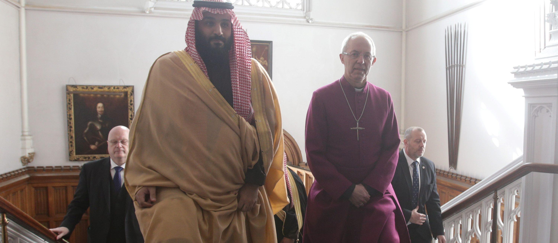 Saudi Crown Prince commits to interfaith tolerance, says Anglican church