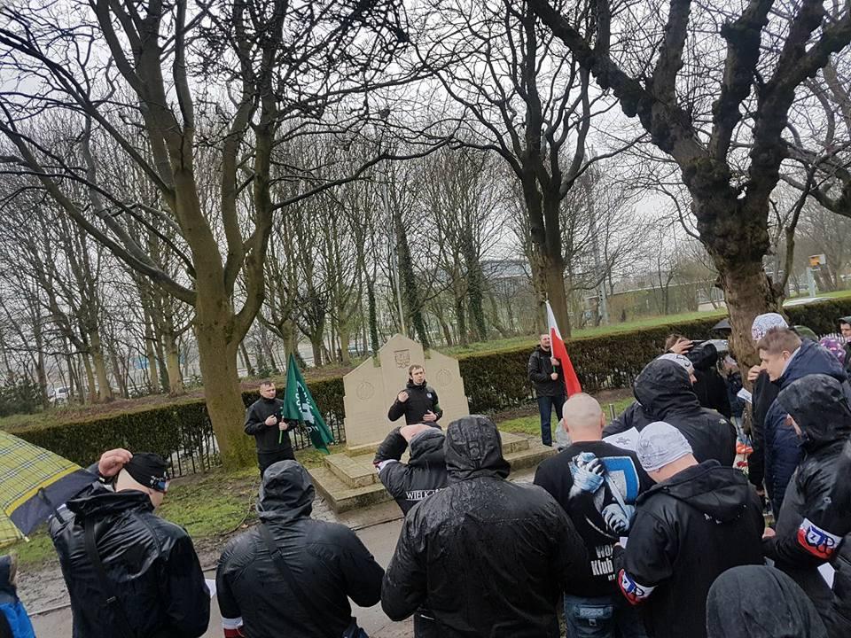 Neo-Fascist ONR, Obóz Narodowo-Radykalny, Offshoot in Manchester