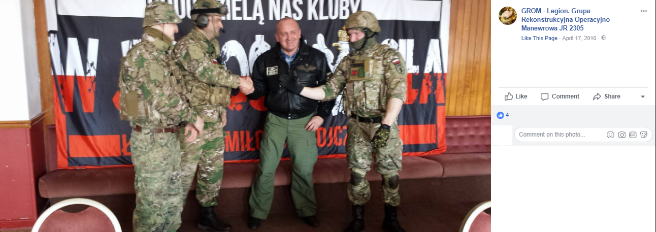 'Grom Legion' – Military Enthusiasts With Views and Links That are Concerning