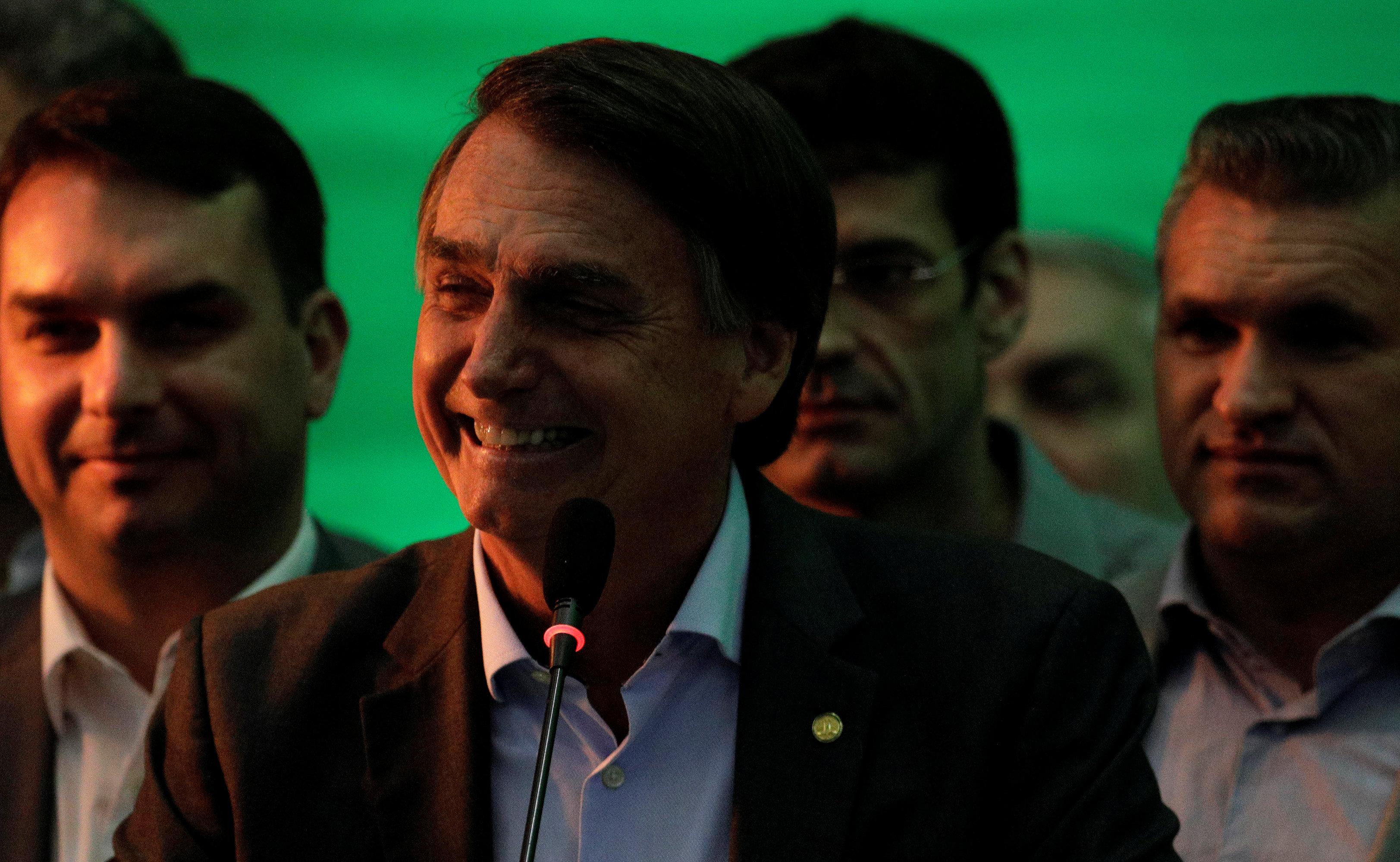 Brazilian right-wing candidate Bolsonaro picks army general as running mate