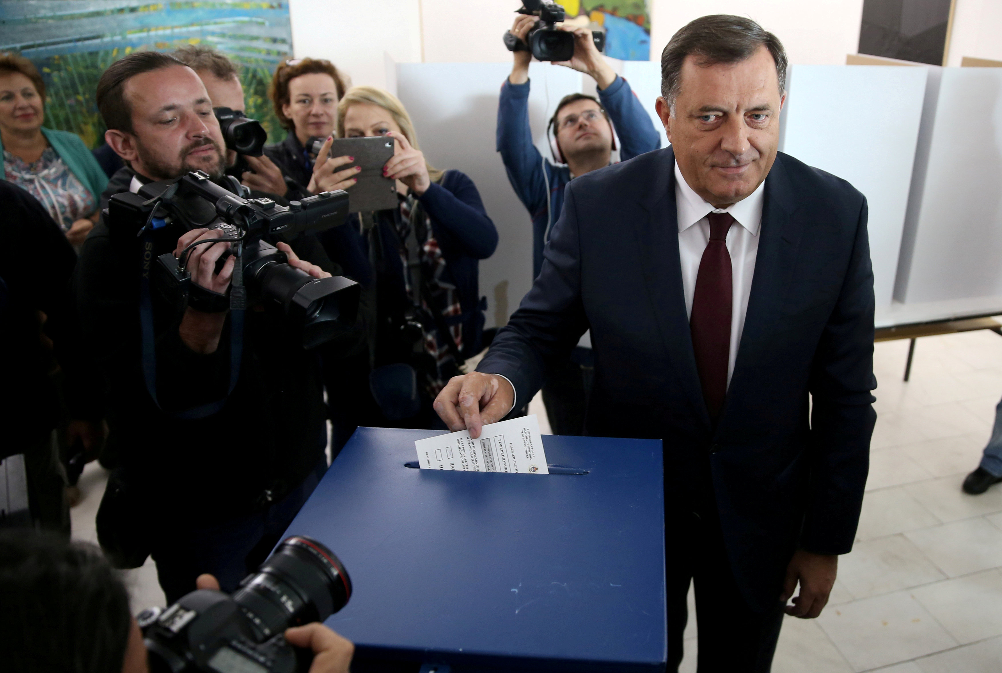 Bosnia: Leader accuses U.S. of meddling in elections