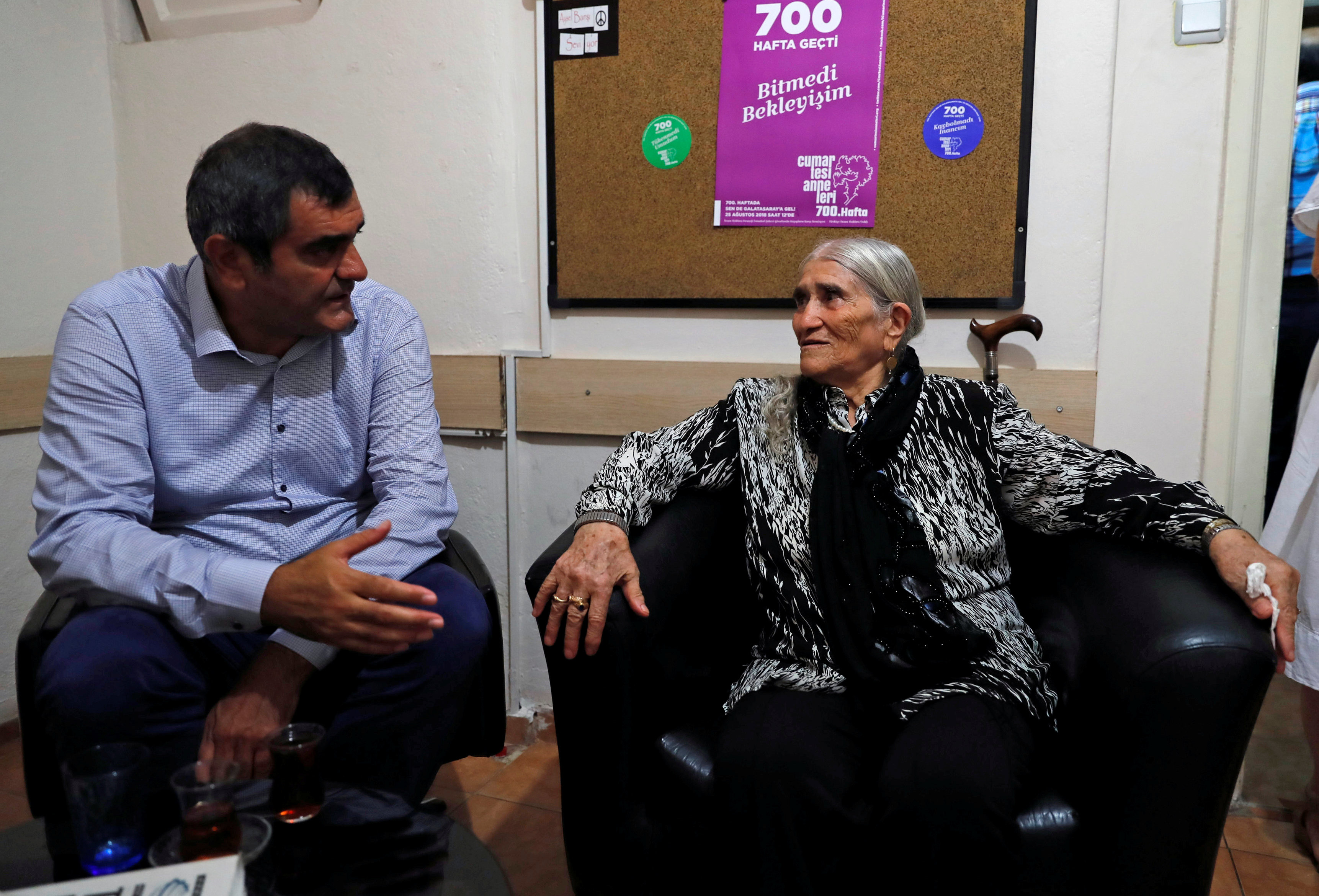 Turkey: Freedoms suffer as government blocks decades-old mothers' vigil