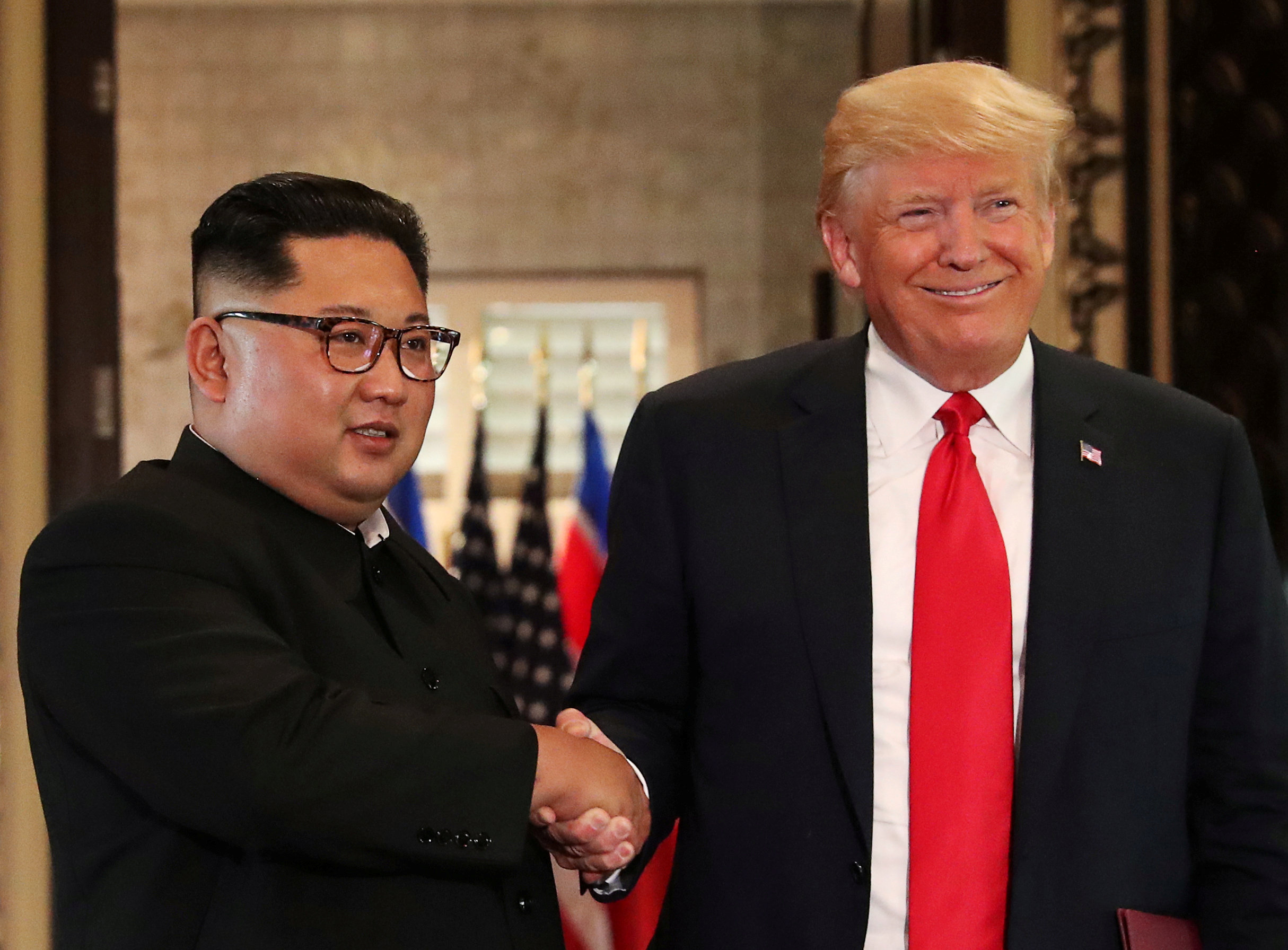US and North Korea: 'We fell in love' – Trump swoons over letters from North Korea's Kim