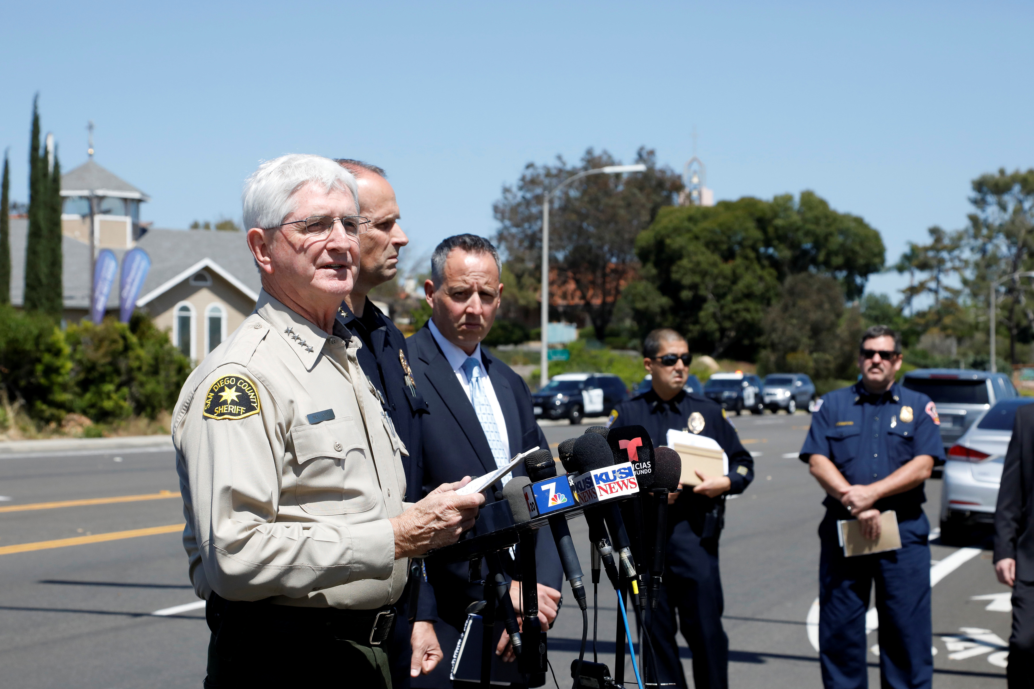 U.S: One Dead After Man Opens Fire on Worshippers in California Synagogue