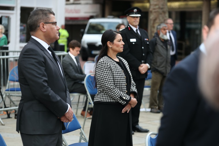 Mayor tells vigil Reading community 'shall not be divided' by terror attack