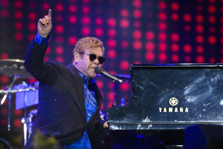 Sir Elton John and David Furnish back music industry anti-racism initiative